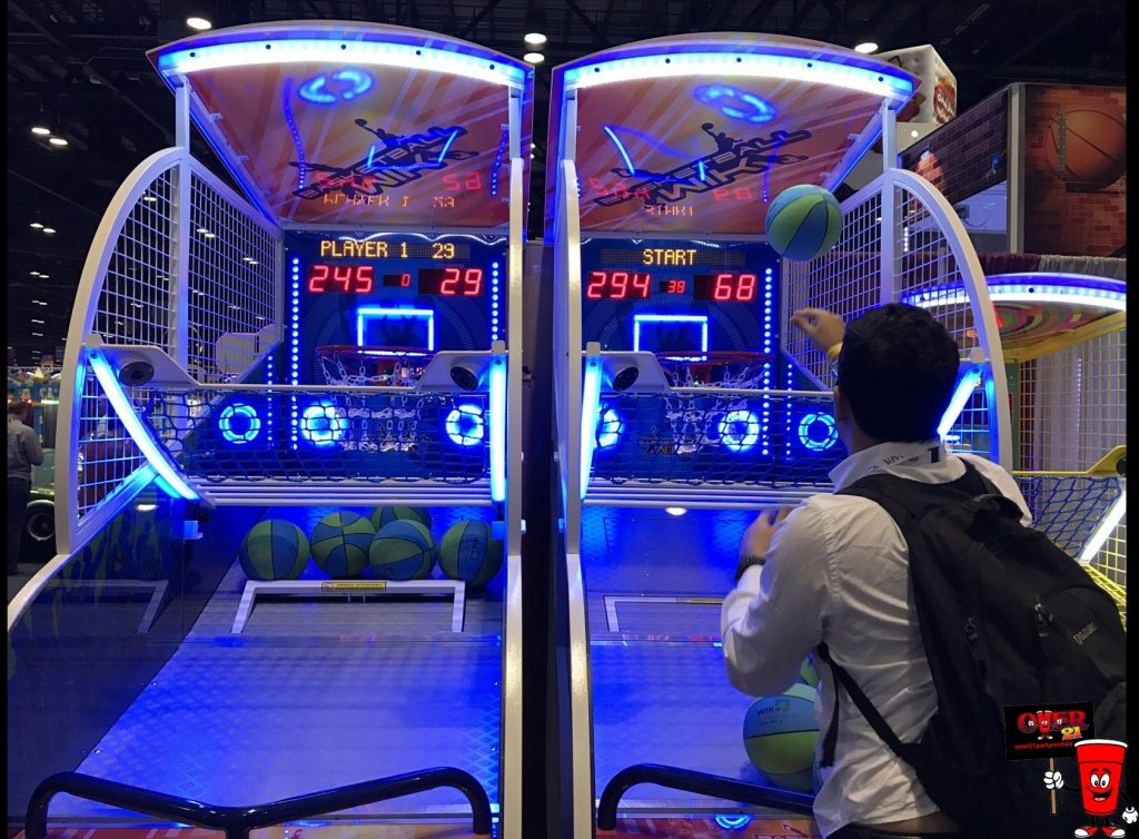 LED Basketball Toss