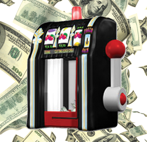 Slot Machine Cash Cube